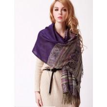2015 Мода кондиционирования печатных цветов шарф шаль (MU6625)