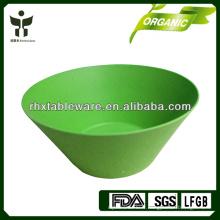 Bol en fibre de bambou en couleur imprimée ou solide