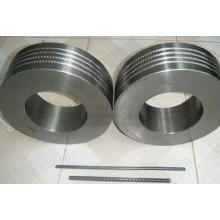 Petroleum Tempered Forged Steel Rings , EN BS Silver Stainl
