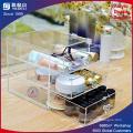 Boîte de rangement acrylique avec tiroirs