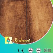 Haushalt 12,3 mm E1 AC4 Woodgrain Textur wasserdicht Laminatboden