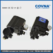 Válvula elétrica / posicionador da válvula de controle