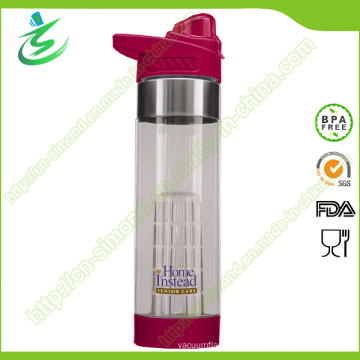 24oz 2015 New-Arrival Tritan Fruit Infuser Water Bottle Custom