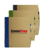 Caderno A4 com Caneta Esferográfica