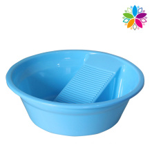 Creative Plastic Washing Basin with Washboard (SLP029)