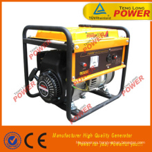 7HP Powered 2.0 generador cepillo KW para la venta