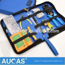 Sacs à outils en réseau en nylon pour la coupe de outils de câble et de réseau, préparation