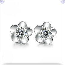 Brinco de cristal moda jóias 925 jóias de prata esterlina (se044)
