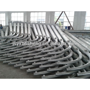 Single Arm Bracket Hot DIP Galvanized Light Steel Pole