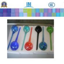 Цветок Глобус Мини-Декоративные Рука-Выдувное Стекло Маленький Завод Полива Лампы