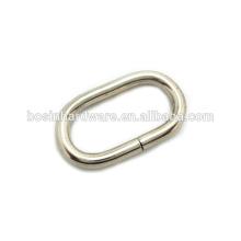 Art- und Weisequalitäts-Metall 25mm ovaler Ring