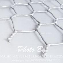 Malha Hexagonal Galvanizada Eletro