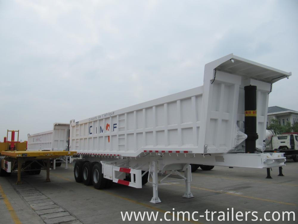 Lf Tri Axle Rear Tipper Semi Trailer