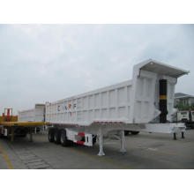 China for Dump Semi-Trailer Tri-axle Rear Tipper Semi-Trailer export to San Marino Suppliers