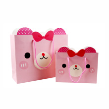 Fancy Cartoon Customized Art Paper Gift Packaging Bag