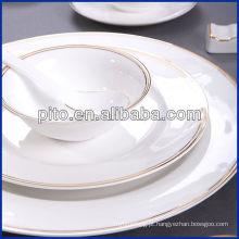 Louça de porcelana PITO com decalque