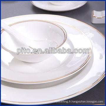 Vaisselle en porcelaine PITO avec décalque