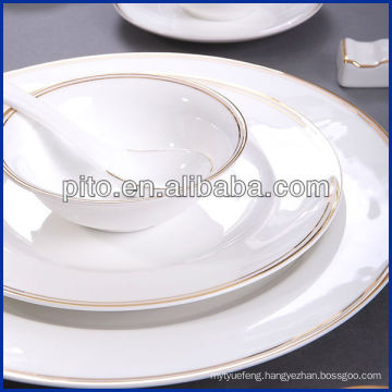 PITO porcelain dinnerware with decal