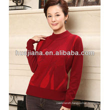 good antipilling cashmere knitting women's sweater