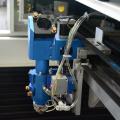 Laser cutting machine for metal sheet