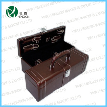 2015 New Hot Sale Leather Wine Box (HX-PW018)