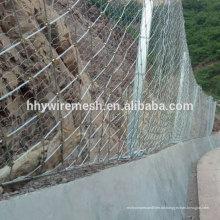 Böschungsschutznetz Steinschlagschutzzaun Drahtseilnetz