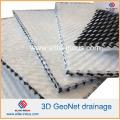 Геокомпозит Fabrinet для трехмерной геометрии HDPE для дренажа