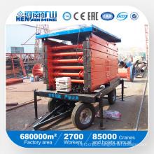 High Quality Mobile Hydraulic Scissor Lifting Platform (SJY)