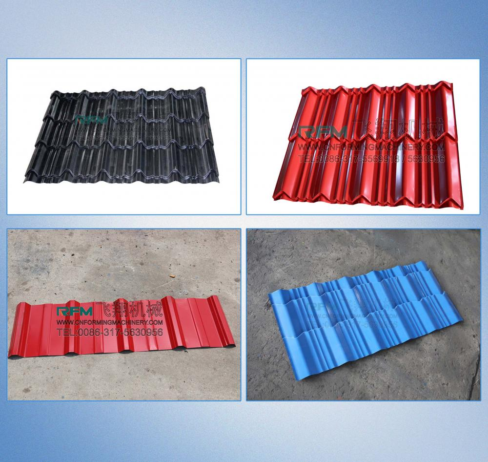 Glazed Color Steel Roll Forming Machine