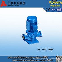 Vertical Inline Hot Water Pump by Anhui Sanlian