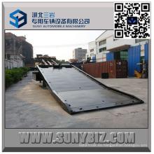 Fb15 Carro de remolque de plataforma plana de 9 toneladas