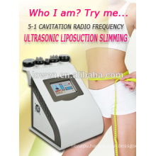 sale!!!professional RF + lipo laser + Vacuum + cavitation slimming machine