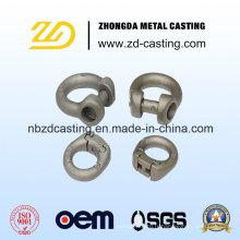 Fabrication de pièces en acier de fonte à haute teneur en chrome par estampage