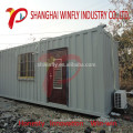 Aço terminado do projeto novo do bloco liso de Malásia 20 pés da casa viva expansível do recipiente