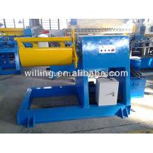 Machine de dérouleur de bobine d'acier hydraulique