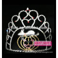 simple design crystal lovely golden pumpkin tiara