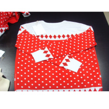 PK17ST109 Acryl Norweger Pullover Weihnachten Saison Frauen Kleidung