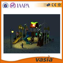 park rozrywki w nocy niegrzeczny castel zabaw z tworzyw sztucznych