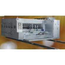 Máquina de impressão e entalhe de três cores automática completa