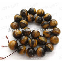 16MM Sphere Shaped tigereye stone beads