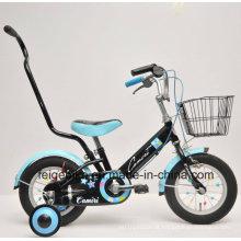 Bicicleta conveniente das crianças da bicicleta popular de BMX com a empurrão Pólo (FP-KDB-17057)