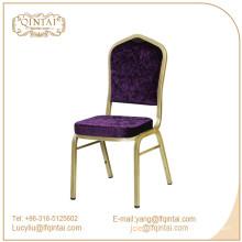 Qintai cadeira de banquete de alumínio