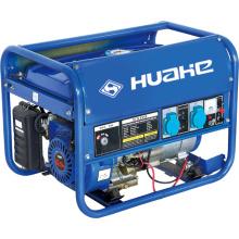 Générateur domestique bleu, groupe électrogène d'essence (HH2500-A5)