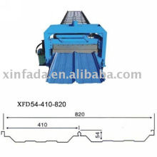 Joint Hidden Wall Panel Roll Forming Machine, effektive Breite von 820mm
