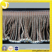 Bullion Chainnette Beads Curtain Trimming Fringe For Curtain,Tapestry,Lamp and Valance Decoration,Tassel Importer