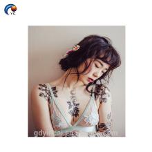 Manga del tatuaje del brazo de gran tamaño para dama sexual con precio competitivo en YinCai