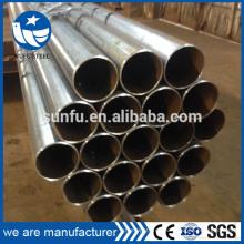 De alta calidad de alta frecuencia de carbón soldado ERW tubo de muebles