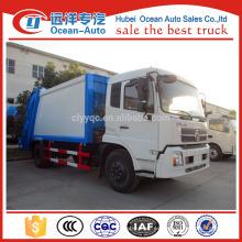 Kingrun 10 metros cúbicos compactor camión de basura para la venta