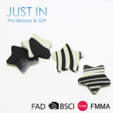 Best Offer! Custom Stard shaped puff beauty makeup blender cosmetic sponge puff/cosmetic power sponge puff