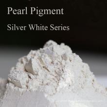 Pigmento perlado industrial Serie Silver White Pearl Powder